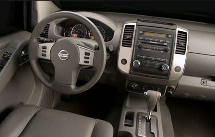 2011 Nissan Frontier Interior HD Wallpaper
