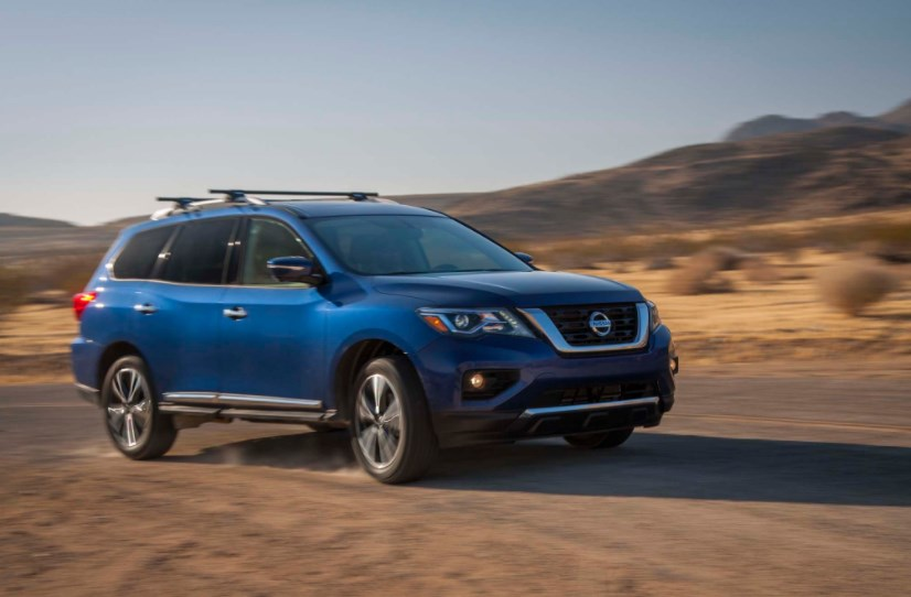 2017 Nissan Pathfinder Owners Manual