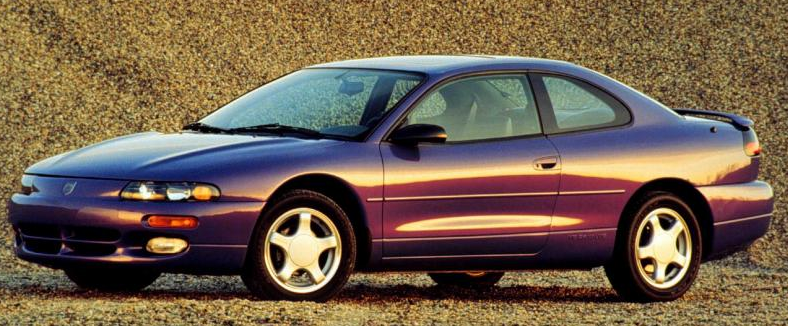 1995 Dodge Avenger Owners Manual