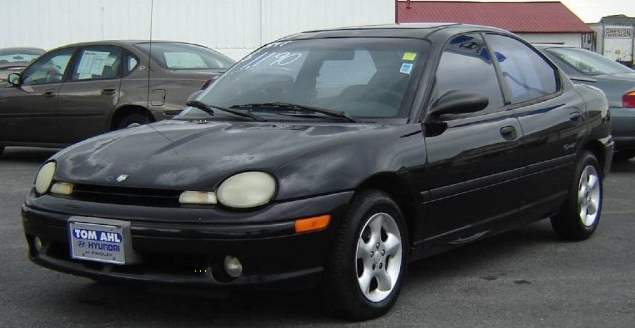 1997 Dodge Neon Owners Manual