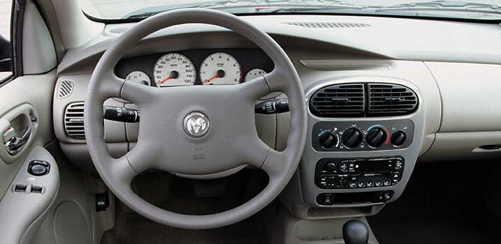 2000 Dodge Neon Interior and Redesign