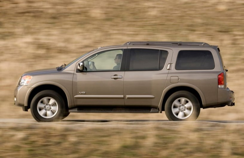 2009 Nissan Armada Owners Manual
