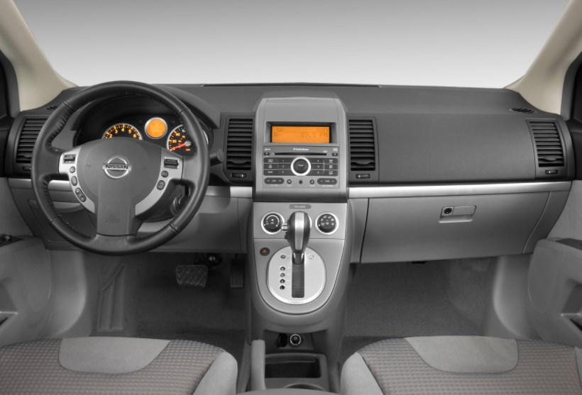 2009 Nissan Sentra Interior HD Wallpaper