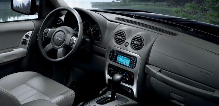 2005 Jeep Liberty Interior and Redesign