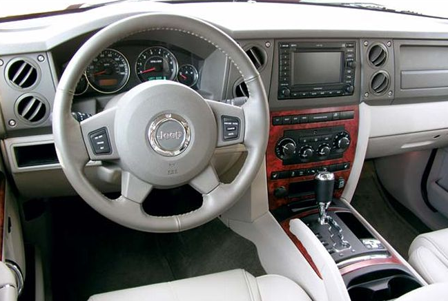 2006 Jeep Commander Interior and Redesign