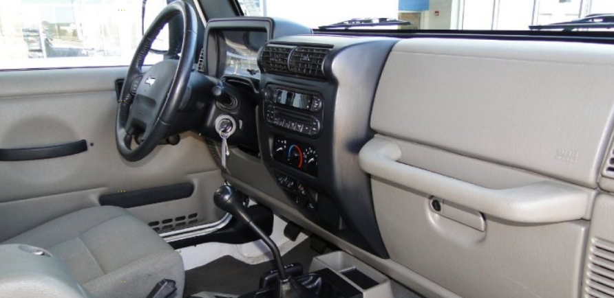 2006 Jeep Wrangler Interior and Redesign