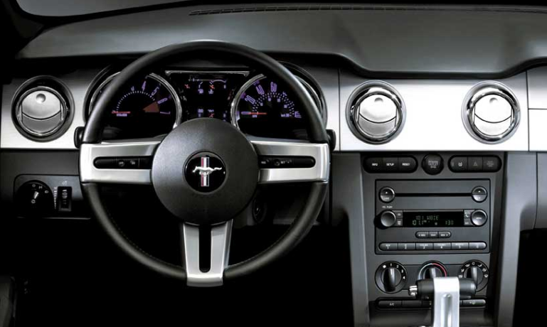 2008 Ford Mustang Interior and Redesign