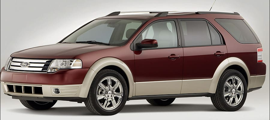 2008 Ford Taurus X Owners Manual