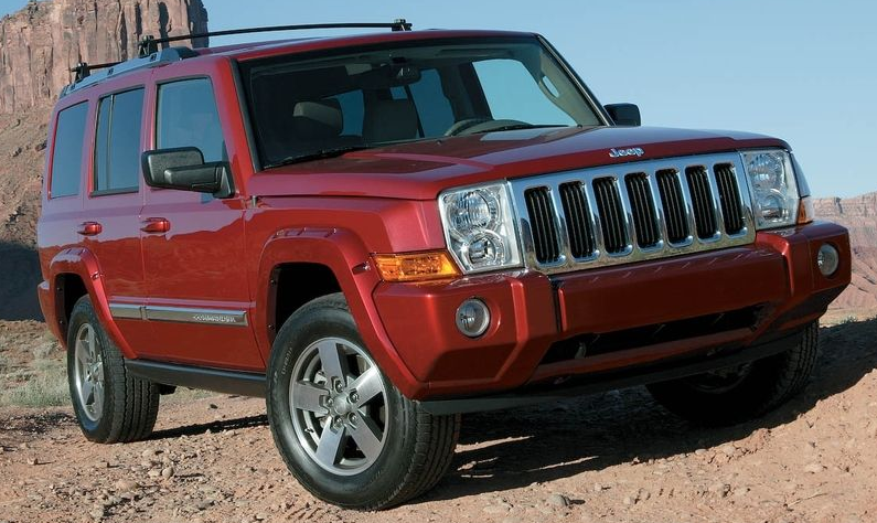 2008 Jeep Commander Owners Manual