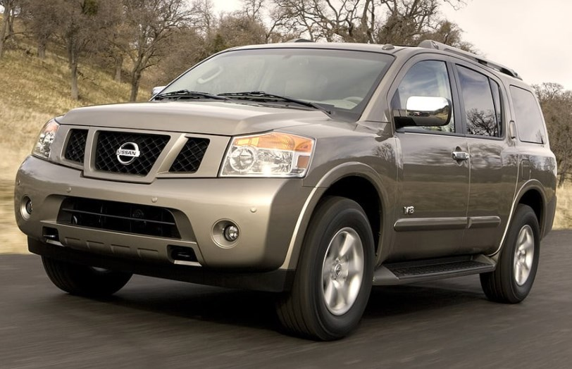 2008 Nissan Armada Owners Manual
