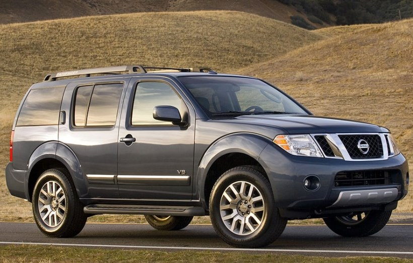 2008 Nissan Pathfinder Owners Manual