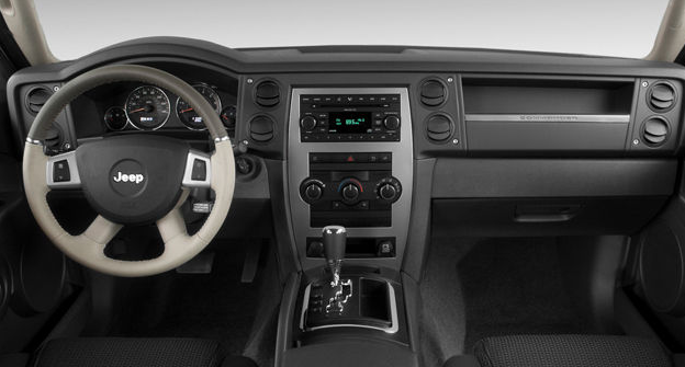 2009 Jeep Commander Interior and Redesign