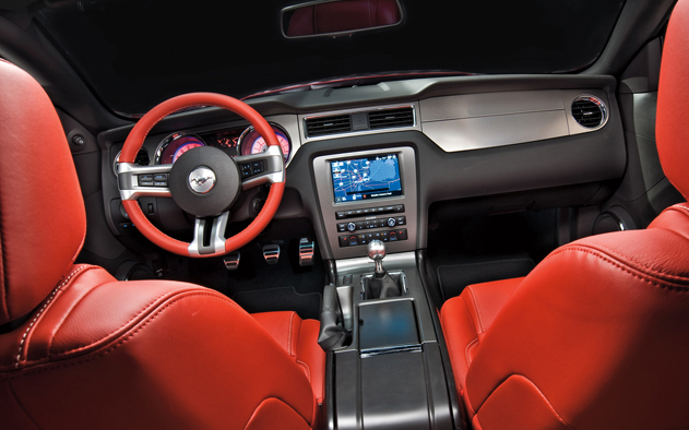 2010 Ford Mustang Interior and Redesign