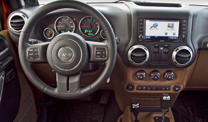 2011 Jeep Wrangler Interior and Redesign