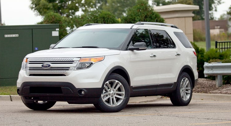 2012 Ford Explorer Owners Manual