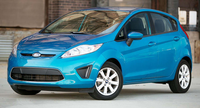 2012 Ford Fiesta Owners Manual