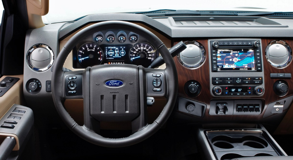 2012 Ford Super Duty Interior and Redesign