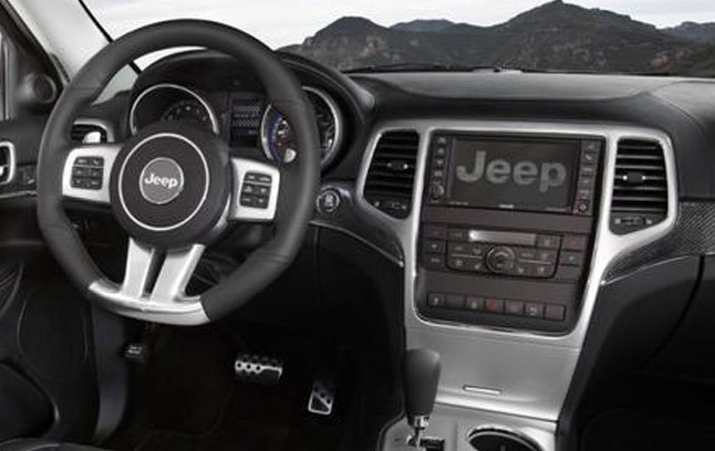2012 Jeep Grand Cherokee SRT8 Interior and Redesign