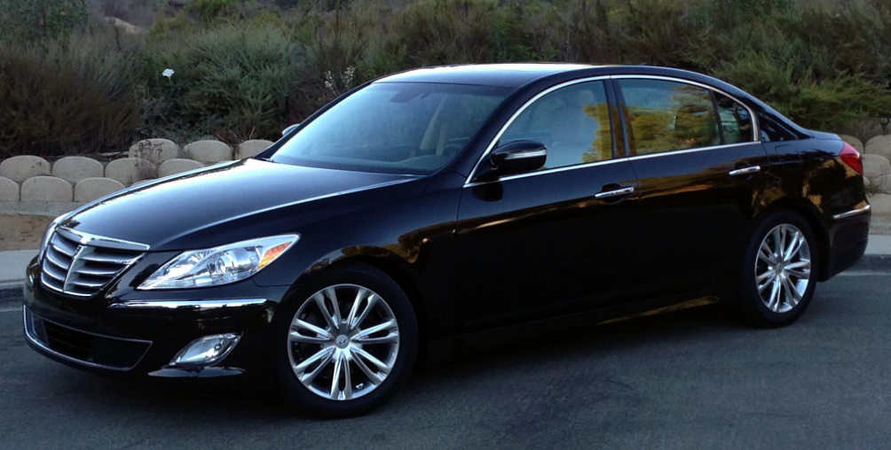 2013 Hyundai Genesis sedan Owners Manual