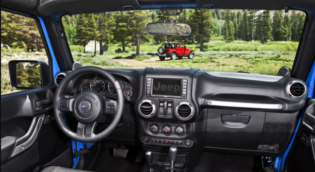 2013 Jeep Wrangler Interior and Redesign