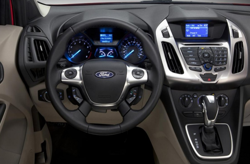 2014 Ford Transit Connect Van Interior and Redesign