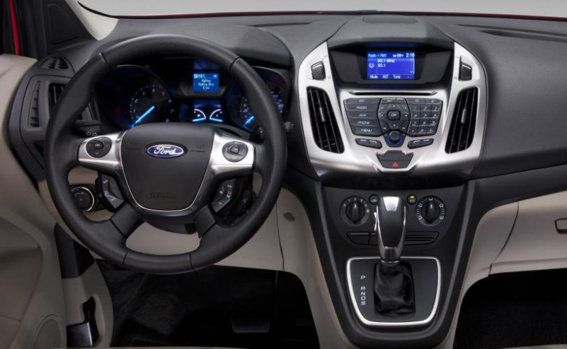 2014 Ford Transit Connect Wagon Interior and Redesign