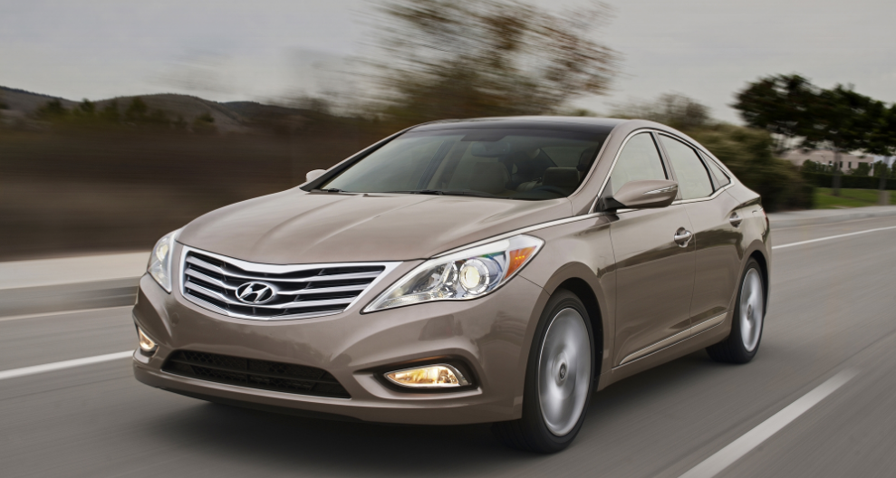 2014 Hyundai Azera Owners Manual