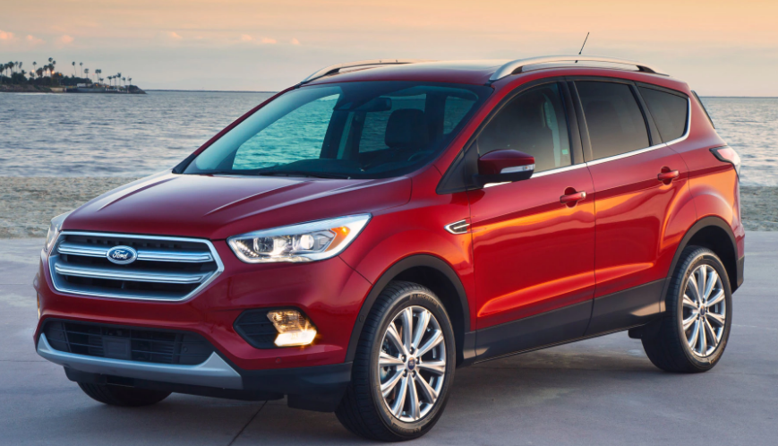 2017 Ford Escape Owners Manual and Concept