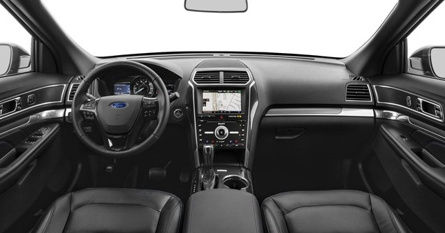 2017 Ford Explorer Interior and Redesign