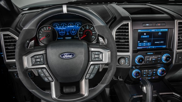 2017 Ford F-150 Raptor Interior and Redesign