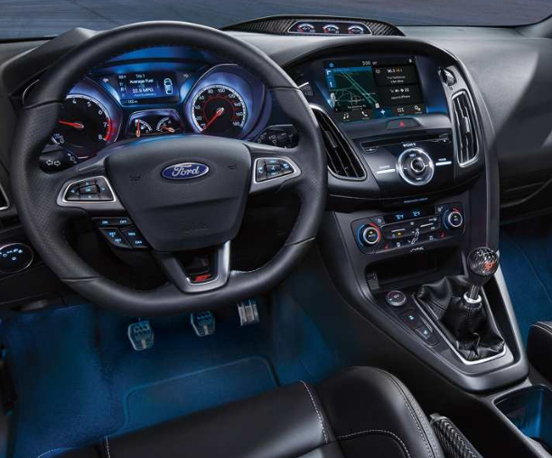 2017 Ford Focus Interior and Redesign