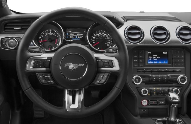 2017 Ford Mustang Interior and Redesign