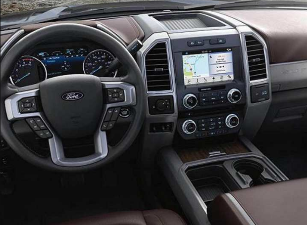 2017 Ford Super Duty Interior and Redesign