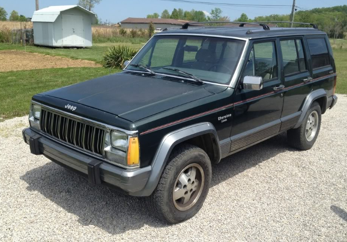 1991 Jeep Cherokee Owners Manual