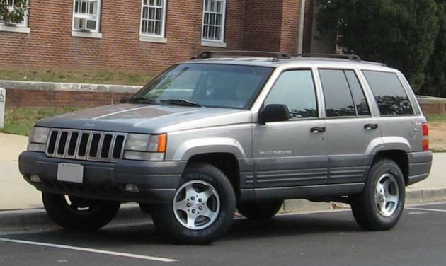 1995 Jeep Grand Cherokee Owners Manual