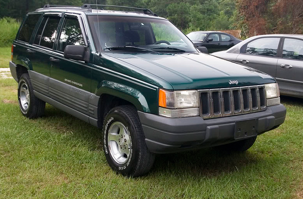 1998  Jeep Grand Cherokee Service Manual