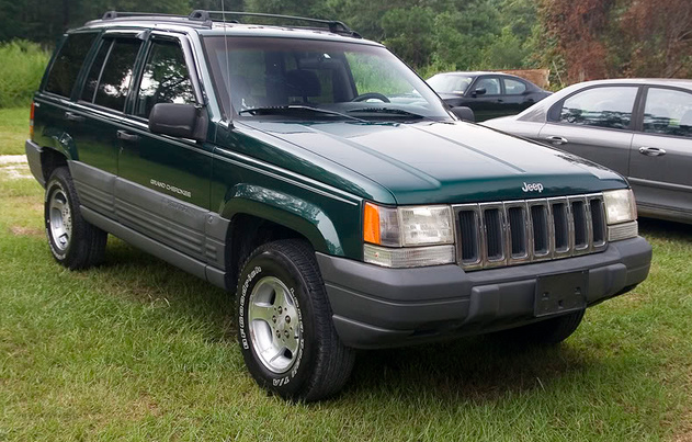 1998 Jeep Grand Cherokee Owners Manual