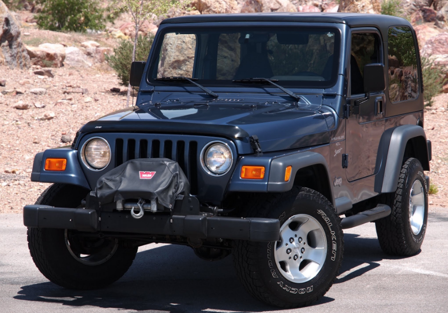 2001 Jeep Wrangler Owners Manual