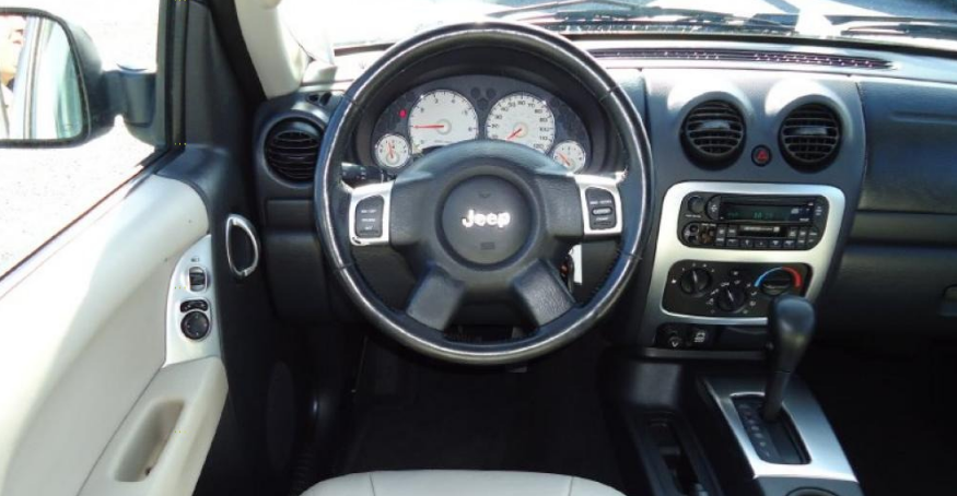 2002 Jeep Liberty Interior and Redesign