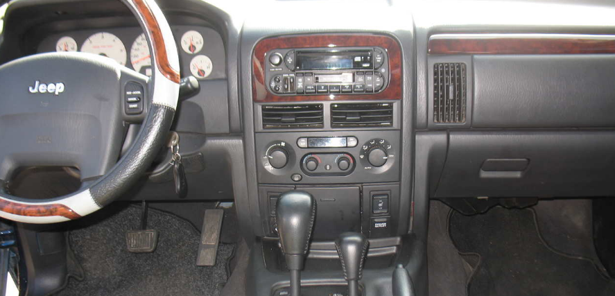 2003 Jeep Grand Cherokee Interior and Redesign