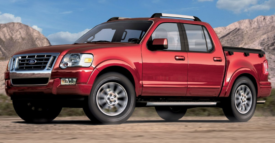 2007 Ford Explorer Sport Trac Owners Manual
