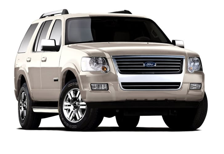 2008 Ford Explorer Owners Manual