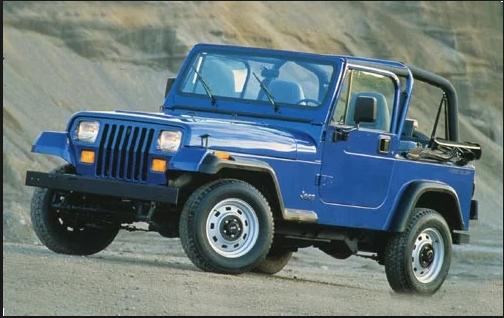 1990 Jeep Wrangler Owners Manual