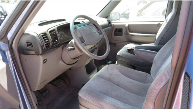 1994 Dodge Caravan Interior and Redesign