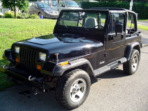 1994 Jeep Wrangler Owners Manual