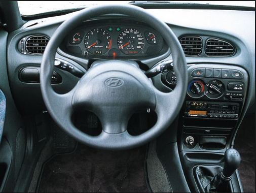 1995 Hyundai Elantra Interior and Redesign