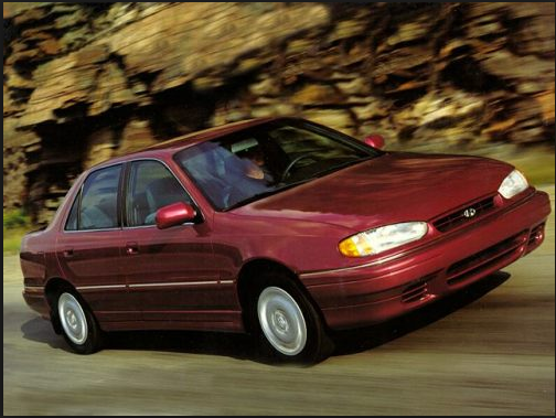 1995 Hyundai Elantra Owners Manual