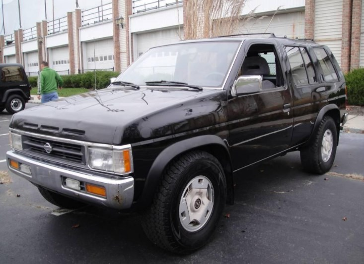 1995 Nissan Pathfinder Owners Manual
