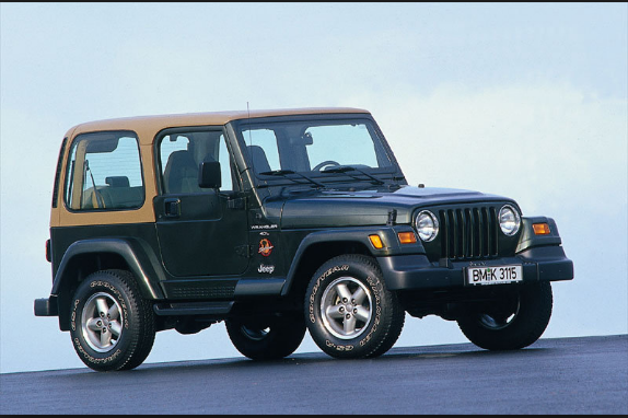 1996 Jeep Wrangler Owners Manual