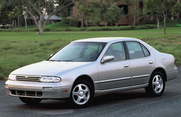 1996 Nissan Altima Owners Manual